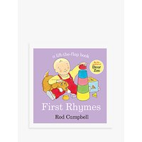 First Rhymes/Animal Rhymes Childrens Books