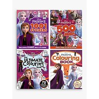 Frozen Activity Children's Books Pack