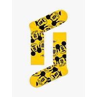 Happy Socks Disney Mickey Mouse Socks, One Size, Yellow.