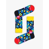 Happy Socks Leopard Socks, One Size, Multi.