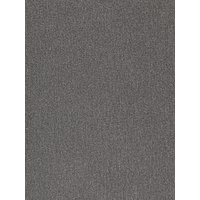 John Lewis & Partners Brushed Twill Textured Plain Fabric, Charcoal, Price Band C