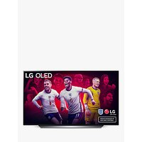LG OLED77CX6LA (2020) OLED HDR 4K Ultra HD Smart TV, 77 inch with Freeview HD/Freesat HD, Dolby Atmos Sound and Alpine Stand, Dark Silver