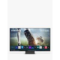 Samsung QE65Q95T (2020) QLED HDR 2000 4K Ultra HD Smart TV, 65 inch with TVPlus/Freesat HD, Black