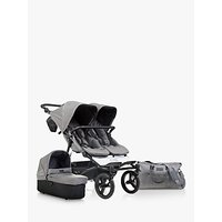 Mountain Buggy Duet V3 Pushchair and Carrycot Plus, Luxury Herringbone
