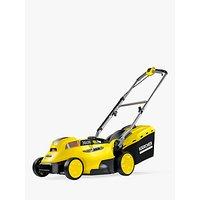 Kärcher LMO 18-36 Push Cordless Battery Lawn Mower, 36cm, Yellow