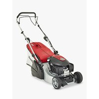 Mountfield SP425R Rear Roller Self-Propelled Petrol Lawn Mower, 41cm, Red/Grey