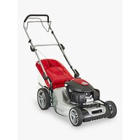 Mountfield SP535 HW Self-Propelled Petrol Lawn Mower, 53cm, Red/Grey