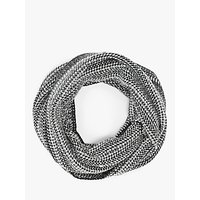 John Lewis and Partners Folklore Pattern Snood, Grey Mix