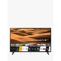 LG 49UM7050PLF (2020) LED HDR 4K Ultra HD Smart TV, 49 inch with Freeview Play/Freesat HD, Ceramic Black
