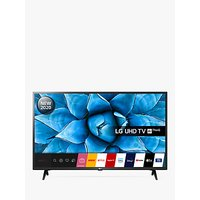 LG 43UN73006LC (2020) LED HDR 4K Ultra HD Smart TV, 43 inch with Freeview HD/Freesat HD, Ceramic Black