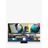 Samsung QE65Q950TS (2020) QLED HDR 3000 8K Ultra HD Smart TV, 65 inch with TVPlus/Freesat HD, Black