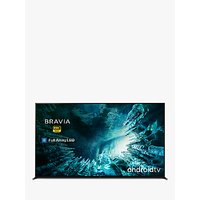 Sony Bravia KD85ZH8 (2020) LED HDR 8K Ultra HD Smart Android TV, 85 inch with Freeview HD, Youview and Dolby Atmos, Black