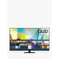 Samsung QE49Q80T (2020) QLED HDR 1500 4K Ultra HD Smart TV, 49 inch with TVPlus/Freesat HD, Black