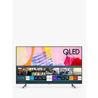 Samsung QE75Q65T (2020) QLED HDR 4K Ultra HD Smart TV, 75 inch with TVPlus, Black