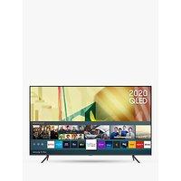 Samsung QE85Q70T (2020) QLED HDR 4K Ultra HD Smart TV, 85 inch with TVPlus/Freesat HD, Black
