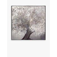 Adelene Fletcher - Wishing Tree Framed Canvas Print, 81.5 x 81.5cm, Grey