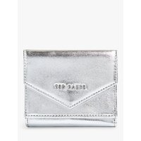 shop for Ted Baker Graciey Leather Mini Purse, Silver at Shopo