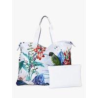 Ted Baker Celisa Foldaway Shopper Bag, Grey