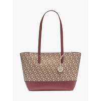 shop for DKNY Bryant Logo Medium Tote Bag, Chino/Aged Wine at Shopo