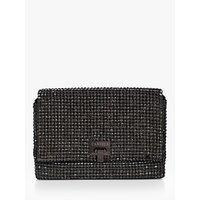 shop for Carvela Bling Embellished Clutch Bag, Black at Shopo
