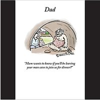 Woodmansterne Dad's Man Cave Father's Day Card