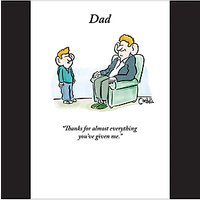 Woodmansterne For Everything Father's Day Card