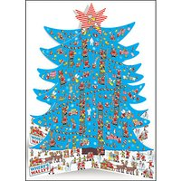 Woodmansterne Where's Wally 3D Advent Calendar