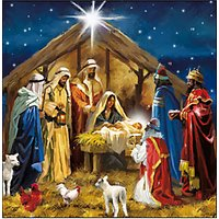 Woodmansterne Nativity Advent Calendar