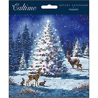 Woodmansterne Magical Tree Advent Calendar Card