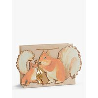 John Lewis & Partners Bloomsbury Squirrel Gift Bag, Small