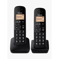 'Panasonic Kx-tgb612eb Digital Cordless Telephone With Nuisance Call Block, Twin Dect