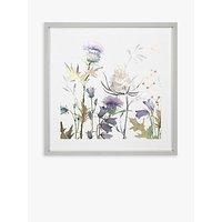 Adelene Fletcher - Whisper Framed Print, 52 x 52cm, Purple/Multi