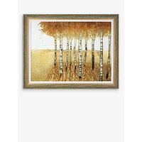 Anthony Del Rizzo - Sunset Walk Framed Canvas, 81 x 104cm, Orange
