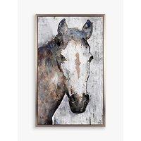Irena Orlov - Mustang Framed Canvas, 79 x 49cm, Brown