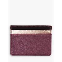 Caroline Gardner Burgundy Velvet Card Holder