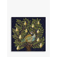 John Lewis & Partners Partridge In A Pear Tree Advent Calendar Christmas Card