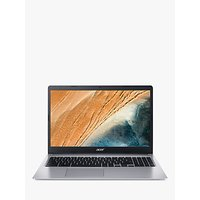 Acer 315 Chromebook Laptop, Intel Pentium Processor, 8GB RAM, 64GB eMMC, 15.6 Full HD, Silver