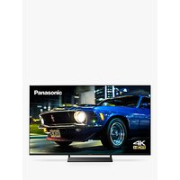 Panasonic TX-50HX820B (2020) LED HDR 4K Ultra HD Smart TV, 50 inch with Freeview Play and Dolby Atmos, Black