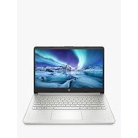 HP 14SS Laptop, Intel Core i3 Processor, 8GB RAM, 128GB SSD, 14 Full HD, Silver