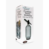 Mixology Collection Classic Soda Syphon, 1L