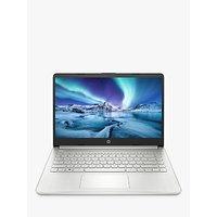 HP 14SS Laptop, Intel Pentium Processor, 4GB RAM, 128GB SSD, 14 Full HD, Silver