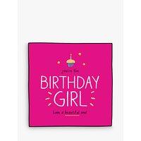 Pigment Beautiful Birthday Girl Card