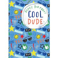 Laura Darrington Design Cool Dude Birthday Card