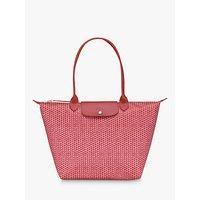 shop for Longchamp Le Pliage Microknit Large Shoulder Bag at Shopo