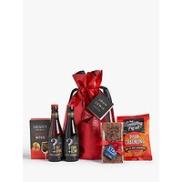 John Lewis and Partners Beer Gift Bag