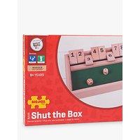 Bigjigs Toys Wooden Shut The Box Game.