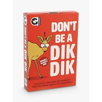 Ginger Fox Don't Be A Dik-Dik Adult Party Game