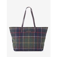 shop for Barbour Witford Tartan Tote Bag, Multi at Shopo