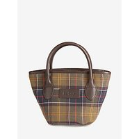 shop for Barbour Small Tartan Tote Bag, Multi at Shopo