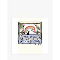 Cardmix Rainbow Blank Greeting Card